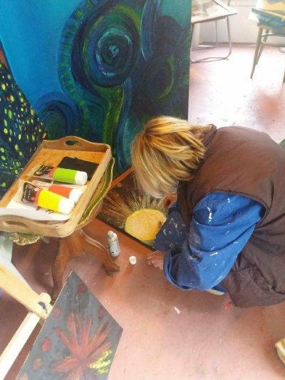 peintre, françoise Dardenne