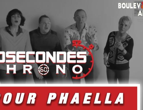 60 Secondes chrono pour Phaella