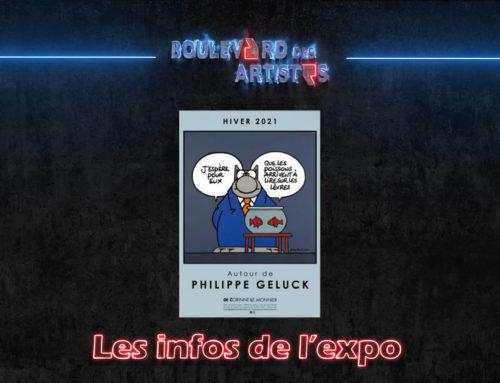 Focus sur l'expo Philippe Geluck à la galerie Corinne Le Monnier