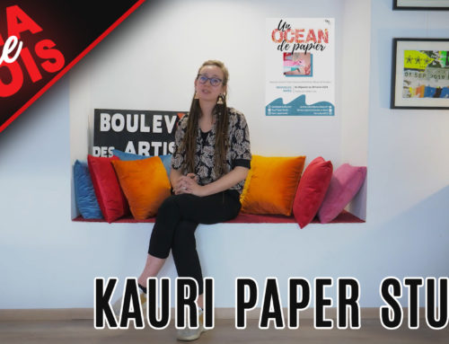 Ma Première fois avec Kauri Paper Studio