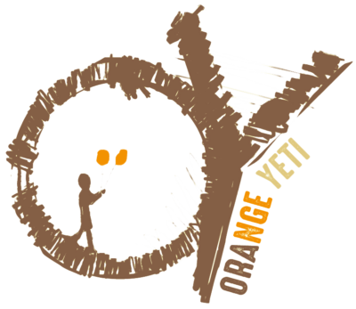 Orange Yeti